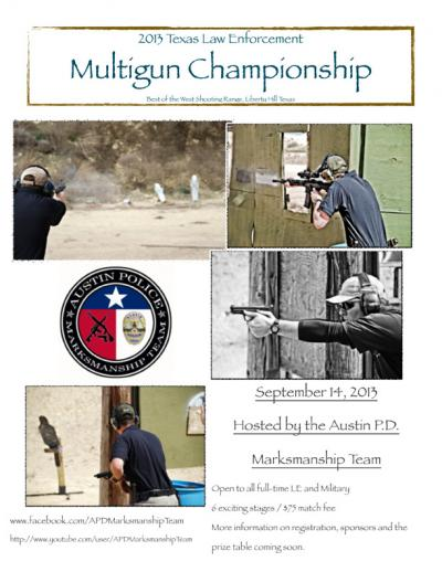 Texas Law Enforcement Multigun Championship